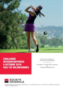 6 octobre 2018, Challenge interentreprises au Golf de Valenciennes